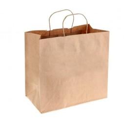 Пакет крафт без печати 32 х 17 х 34 см