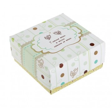 "Коробка подарочная ""Главное"", сборная, 9.5 х 9.5 х 4.5 см"