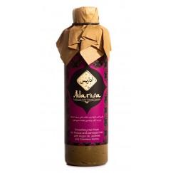 Маска разглаживающая для пористых и поврежденных волос с маслом арганы, жасмином и бесцветной хной, 250 мл.  Adarisa