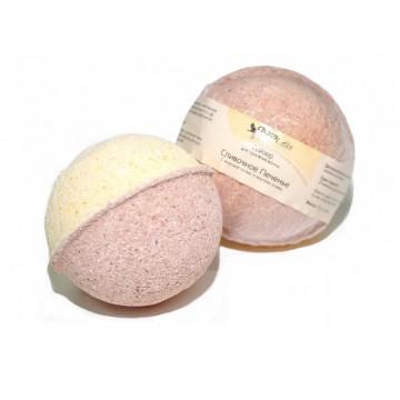 Гейзер (бурлящий шарик) для ванн Сливочное печенье, 120g