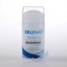 Минеральный дезодорант-кристалл Деонат Pushup чистый, 100 г.
