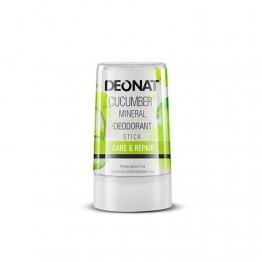 Минеральный дезодорант Деонат с экстрактом Огурца, стик 40 г.