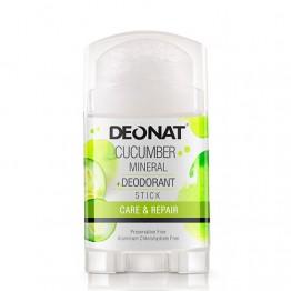 Минеральный дезодорант-кристалл Деонат с экстрактом Огурца, Twistup 100 г.