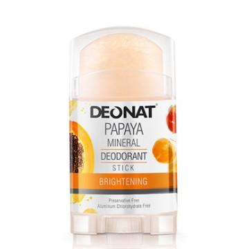 Минеральный дезодорант Деонат с экстрактом Папайи, Twistup, 100 г.