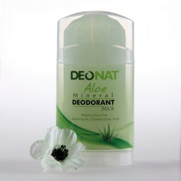 Минеральный дезодорант Деонат с соком Алое, Twistup 100 г.