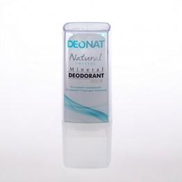 Минеральный дезодорант ДеоНат (Цельный) чистый, стик 40 г.