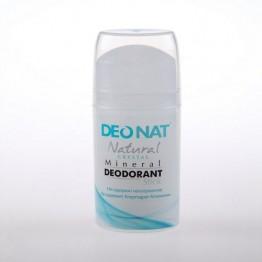 Минеральный дезодорант-кристалл Деонат (Цельный) Pushup чистый, 100 г.