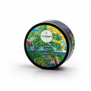 """Натуральная маска для укрепления и питания волос """"Lime & mint"""" 150 мл., """"EcoCraft"""""""