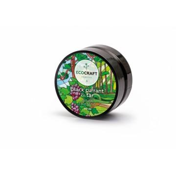 """Натуральный скраб для сухой и чувствительной кожи лица """"Черная смородина и смола"""" 60 мл., """"EcoCraft"""""""