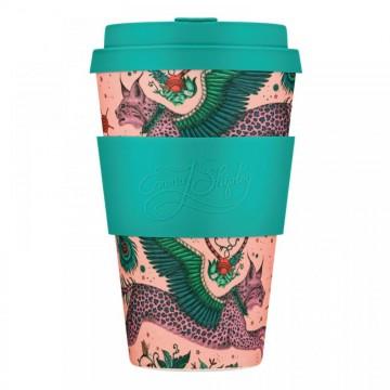Эко-кружка Рысь, 400 мл.|Ecoffee Cup