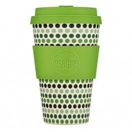 Эко-кружка Зеленый горошек, 400 мл.|Ecoffee Cup