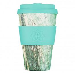 Эко-кружка Зеленый мрамор, 400 мл.|Ecoffee Cup