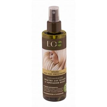 Разглаживающее средство для укладки и укрепления волос
