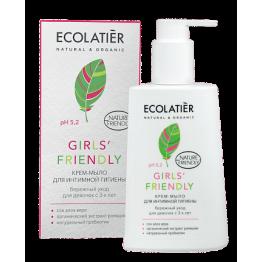 Крем-мыло для интимной гигиены Girls' Friendly бережный уход для девочек с 3-х лет, 250 мл.