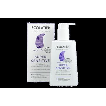 Крем-мыло для интимной гигиены Super Sensitive для чувствительной кожи, 250 мл.