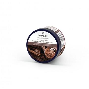 Крем для тела на масле кокоса с экстрактом какао, 250 мл. Innatur