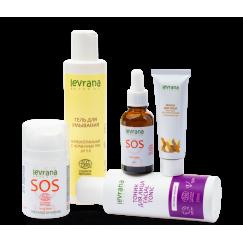 Рекомендованный производителем сет для ухода за проблемной кожей лица| Levrana