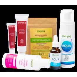 Рекомендованный производителем сет для ухода за зрелой кожей лица| Levrana