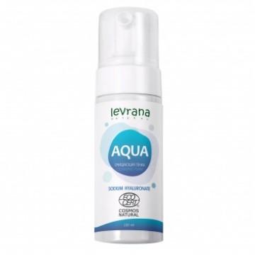 Очищающая пенка для умывания «AQUA»| levrana