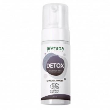Очищающая пенка для умывания «DETOX»| levrana