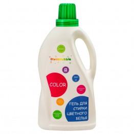 Экологичный гель для стирки цветного белья 1500 мл., Freshbubble