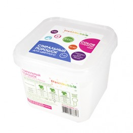 Экологичный порошок для стирки цветного белья 1 кг., Freshbubble