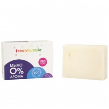Экологичное универсальноe мыло без аромата 100 гр., Freshbubble