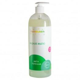 Жидкое мыло «Мята перечная» 1000 мл., Freshbubble