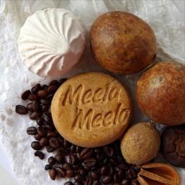 """Твердый шампунь для роста волос """"Кофе-мокко"""" 85 гр., Meela Meelo"""