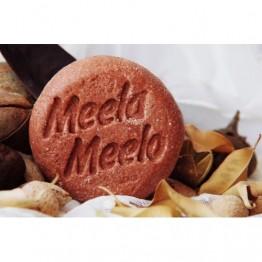 """Твердый шампунь для блеска и силы волос """"Марокканский двойной"""", Meela Meelo"""
