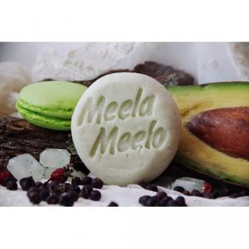 """Твердый шампунь для глубокого очищения """"Многомятный"""", 85 гр., Meela Meelo"""