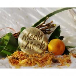 """Твердый шампунь для очищения и объема волос """"Трава-мурава"""", Meela Meelo"""
