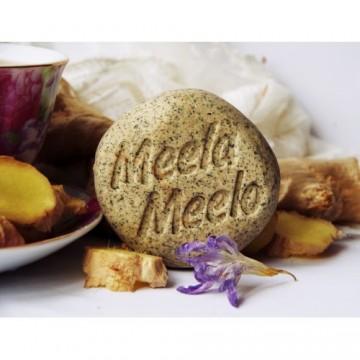 """Твердый шампунь для укрепления и объема """"Чай с имбирем"""", 85 гр., Meela Meelo"""