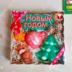 Большой новогодний подарочный набор