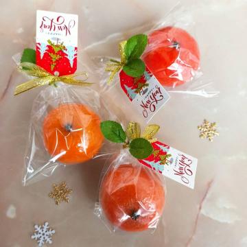 Мыло-мандаринки в пакетиках