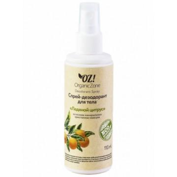 "Дезодорант для тела с ""Ледяной цитрус"" 110 мл., Organic Zone"