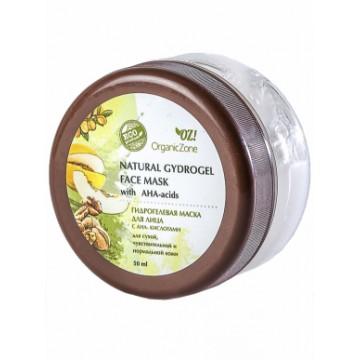 Гидрогелевая маска с АНА-кислотами для сухой, чувствительной и нормальной кожи, Organic Zone