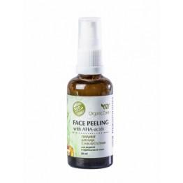 Пилинг для лица с АНА-кислотами для жирной и проблемной кожи 50 мл., Organic Zone