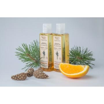 Органическое гидрофильное масло для нормальной кожи «Апельсин и сосна »
