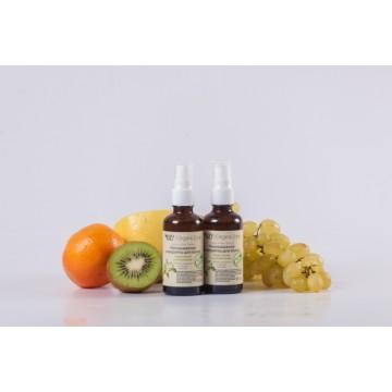 Несмываемая сыворотка для гладкости и шелковистости волос с АНА-кислотами