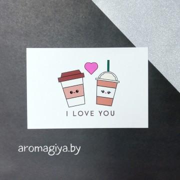 Открытка для любимого и любимой Арт.174| Aromagiya.by