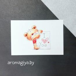 Открытка для любимого и любимой Арт.177| Aromagiya.by