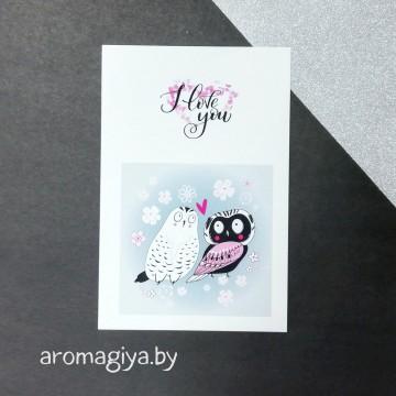 Открытка для любимого и любимой Арт.184| Aromagiya.by