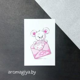 Открытка для любимого и любимой Арт.151| Aromagiya.by