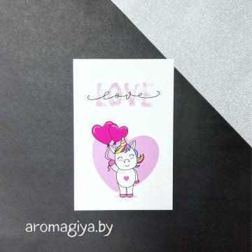 Открытка для любимого и любимой Арт.152| Aromagiya.by