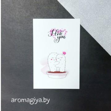 Открытка для любимого и любимой Арт.153| Aromagiya.by