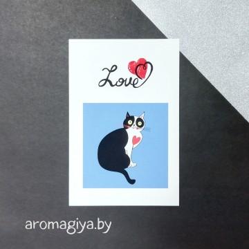 Открытка для любимого и любимой Арт.165| Aromagiya.by