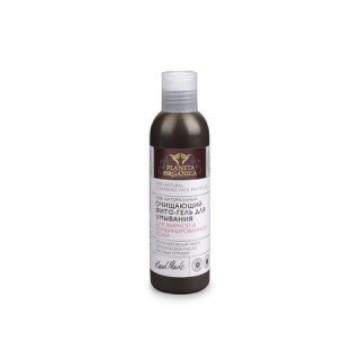 Фито-гель очищающий для умывания жирной и комбинированной кожи, 200 мл.