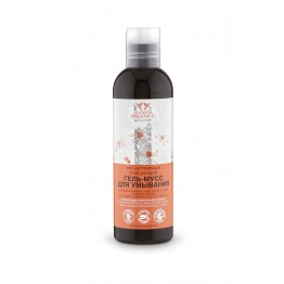 Гель-мусс очищающий для умывания для всех типов кожи 200 мл., Planeta Organica