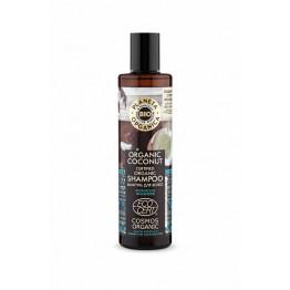 Шампунь для волос сертифицированный органический Organic coconut 280 мл., Planeta Organica